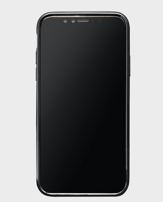 iPhone X Gold Black Case in Qatar