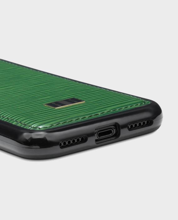 Gold Black iPhone X Case Unico Green