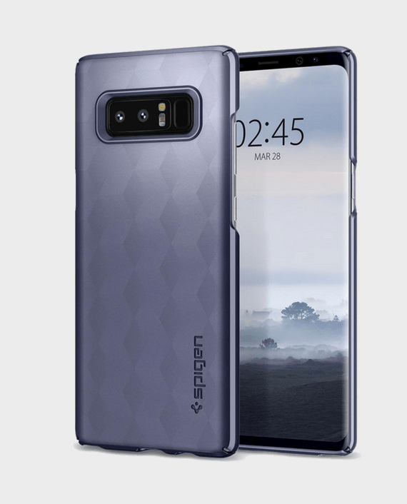 Spigen Samsung Galaxy Note 8 Thin Fit Orchid Gray in Qatar and Doha