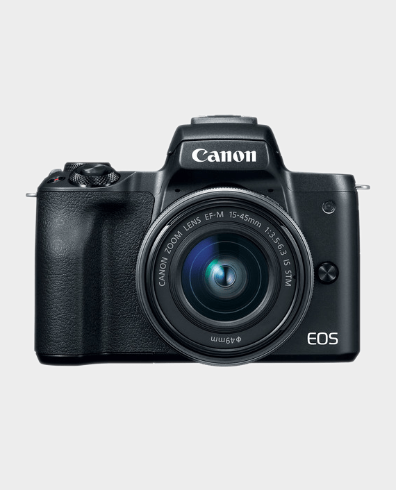 Canon EOS M50 + EF-M 15-45mm IS STM Lens in Qatar