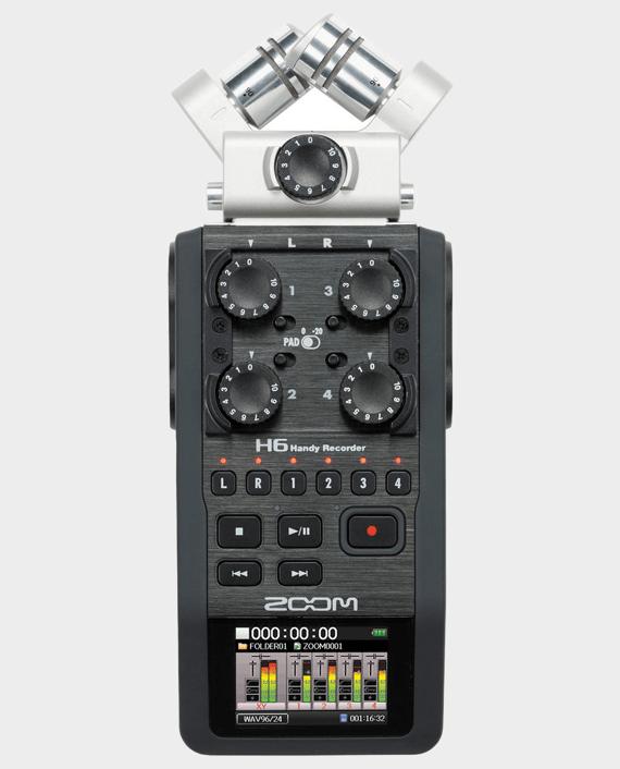 Zoom H6 Portable Handy Recorder in Qatar