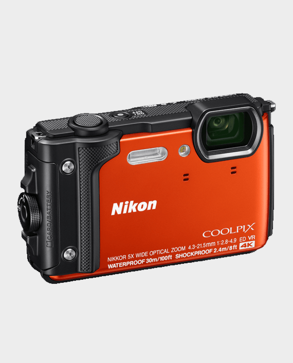 Nikon CoolPix W300 Orange in Qatar
