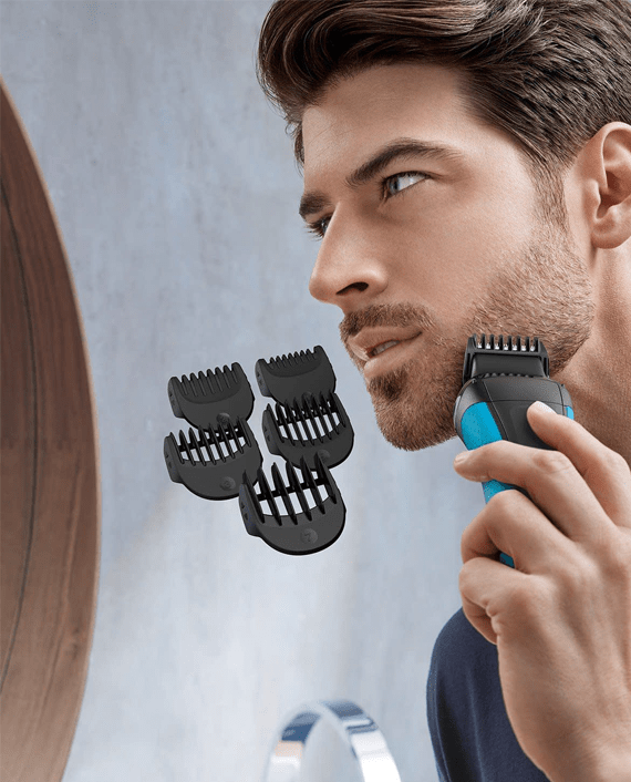 Braun Series 3 Shave&Style 3010BT Wet & Dry Shaver with Trimmer