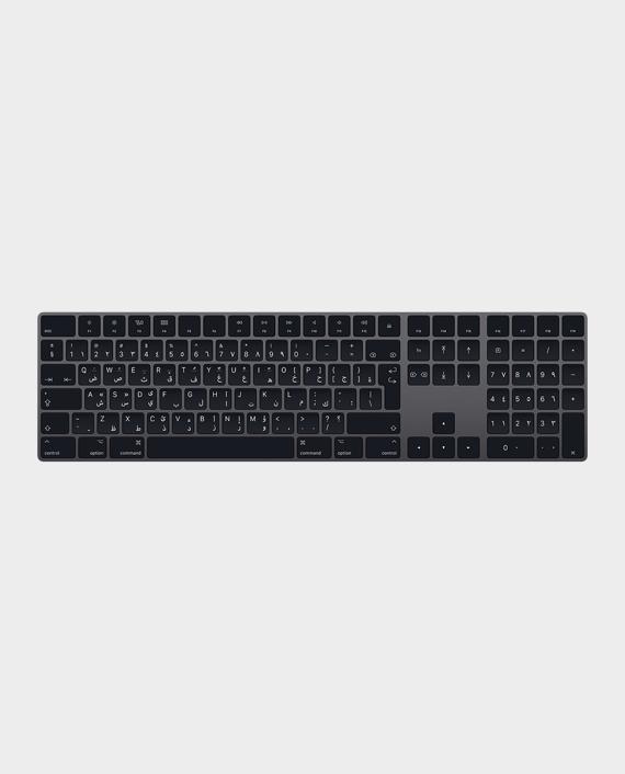 Apple Magic Keyboard with Numeric Keypad Arabic Space Gray in Qatar