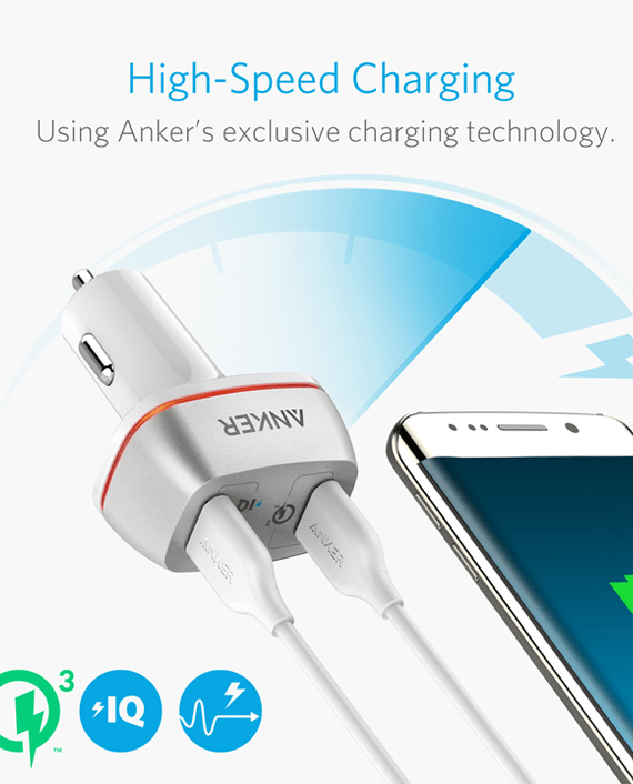 Anker PowerDrive+ 2 Ports