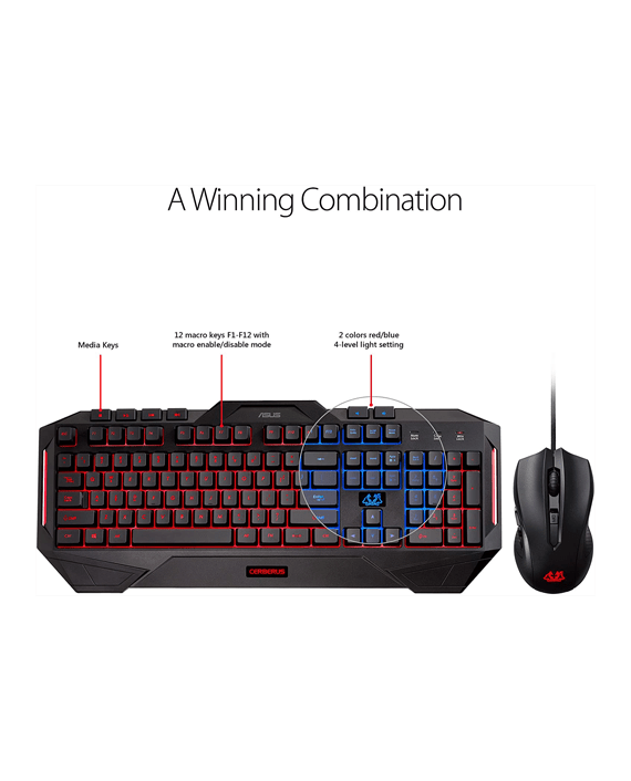 Asus Keyboard and Mouse in Qatar