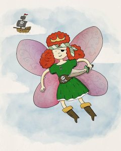 Fiona, Fairy Pirate Princess