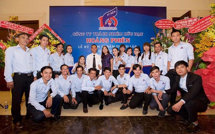 Kỷ niệm 10 năm thành lập Cty TNHH Hoàng Phiên