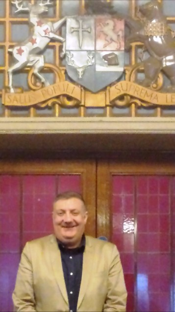 Broadway Theatre Catford Cllr Alan Hall 2017