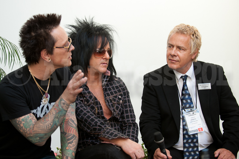 Billy Morrison and Steve Stevens
