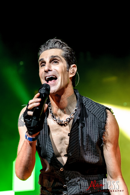 Jane's Addiction performs on June 3, 2012 during the 91X X-Fest