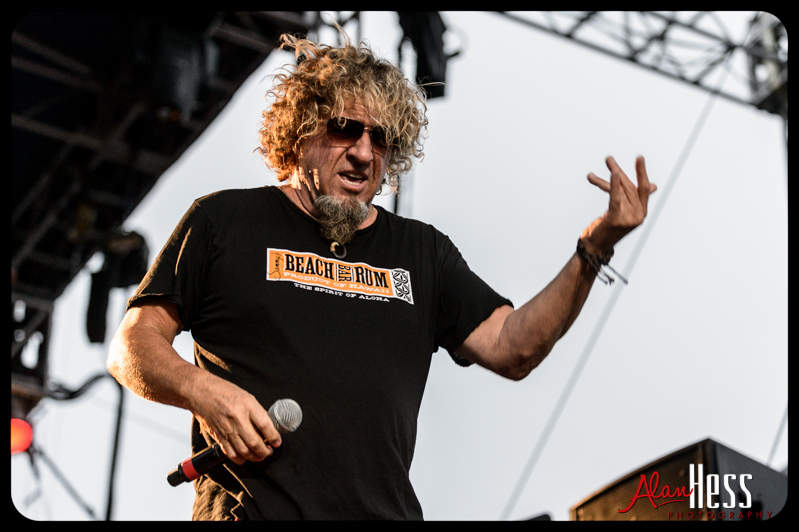 Sammy Hagar and The Wabos