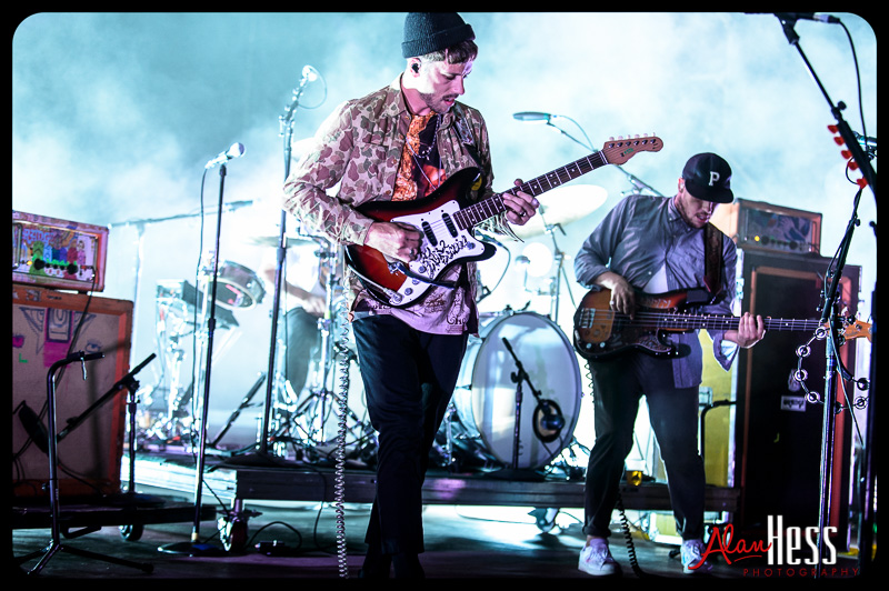 Portugal. The Man on The 2014 Honda Civic Tour / 2014