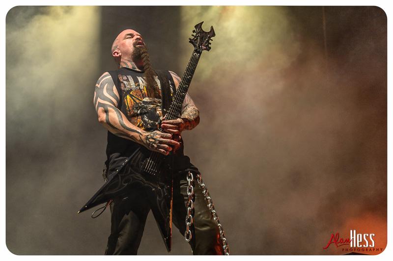 Slayer performs at the Rockstar Energy Drink Mayhem Festival 2015 at Sleep Train Amphitheatre in Chula Vista - June 26, 2015