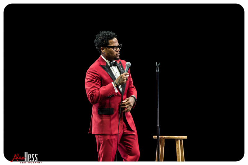 Photographing the Comedy Get Down Tour