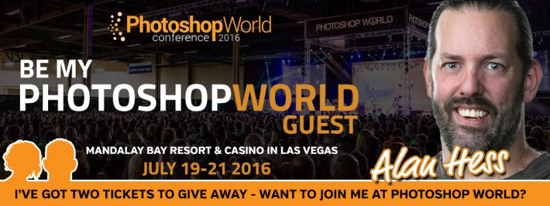 Be My Guest at Photoshop World 2016