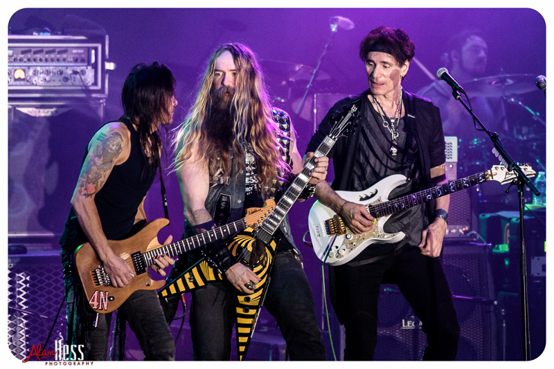 Generation Axe featuring Steve Vai, Yngwie Malmsteen, Zakk Wylde, Nuno Bettencourt, and Tosin Abasi