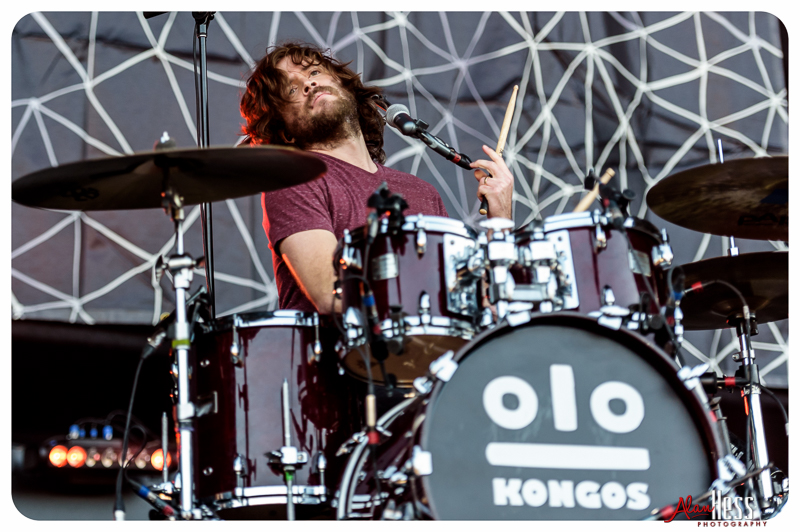 KONGOS perform at the 91X-Fest on June 5, 2016 at Sleep Train Amphitheatre in Chula Vista, CA