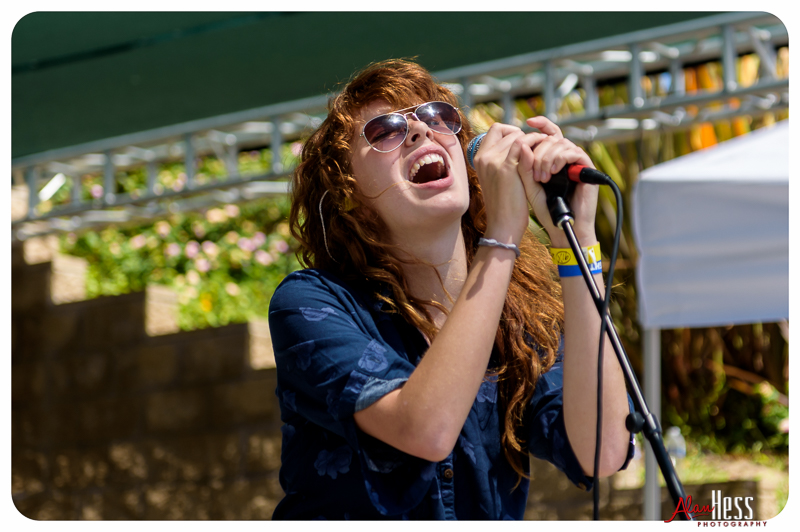 Grace Mitchell performs at the 91X-Fest on June 5, 2016 at Sleep Train Amphitheatre in Chula Vista, CA