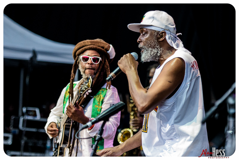Steel Pulse preform at the Pacific Amphitheatre on August 13, 2016 (Photo by Alan Hess)