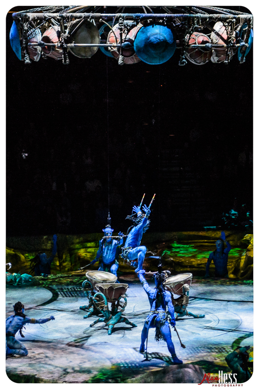 Cirque du Soleil Presents TORUK: The First Flight at the Valley View Casino Center on 11/23/2016 in San Diego, CA (Photo by Alan Hess)