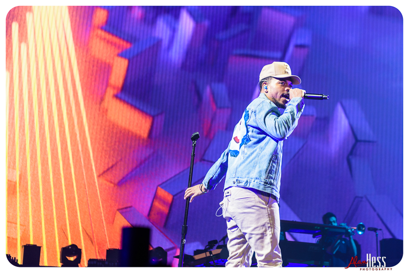 Chance the Rapper : Concert Shoot