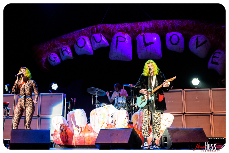 GROUPLOVE concert shoot