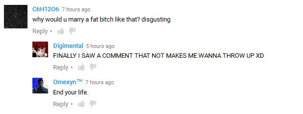 fat gamer comment