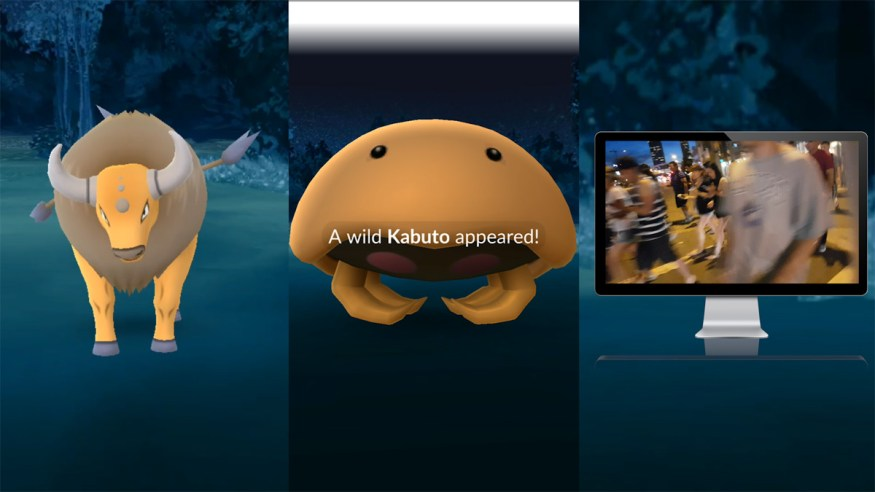 pokemon go rare kabuto spawn