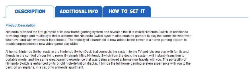 nintendo switch description