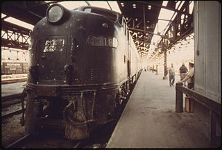 Union Station train platform, Kansas City, MO