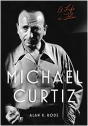 photographic cover of Michael Curtiz biography