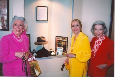 photo of Ann Rutherford, Anne Jeffreys, and Marsha Hunt