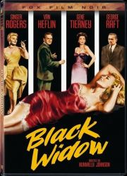 DVD cover art for Black Widow movie