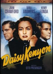 DVD cover art for film noir classic Daisy Kenyon