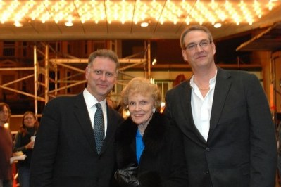 Eddie Muller, Joan Leslie, and Alan K. Rode