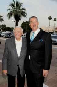 photo of Ernest Borgnine and Alan K. Rode