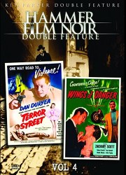 DVD cover art for Hammer Film Noir Double Feature: Terror Street and Wings of Danger
