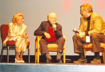 photo of Jacqueline White, Stanley Rubin, Alan K. Rode