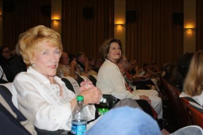 Jeanne Cooper and  Diane Baker