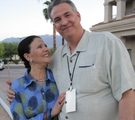 photo of Julie Garfield with Alan K. Rode