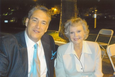 photo of June Lockhart and Alan K. Rode