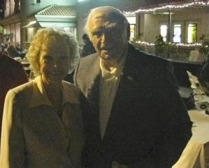 June Lockhart and Ernest Borgnine