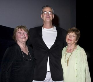 Pat Fielder and Coleen Gray with Alan K. Rode