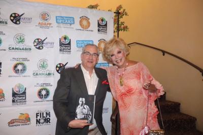 With Ruta Lee at 2018 Arthur Lyons Film Noir Festival