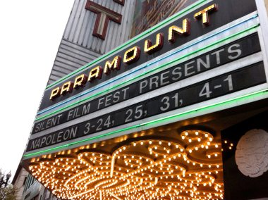 photo of Paramount Theatre Marquee