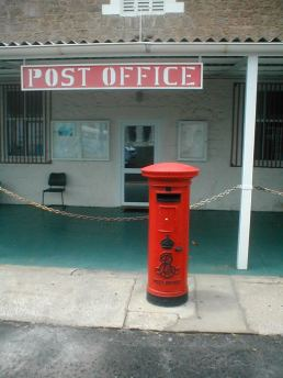The other Edward VII postbox in Georgetown