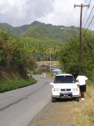 Edsel on the Leeward Highway