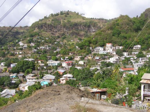 Houses cling to every hillside