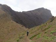 On the narrow ridge